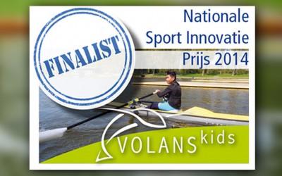 Volanskids finalist Nationale Sport Innovatie Prijs